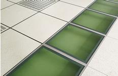 防静电架空活动地板在地铁站的广泛应用