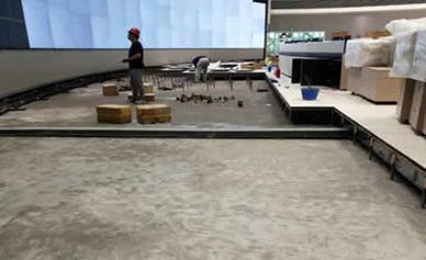 中国移动南方基地星光防静电地板项目